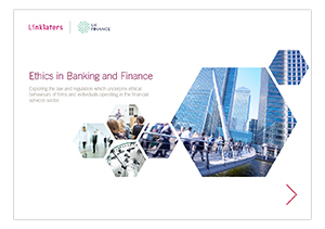 Ethics in Banking and Finance cover
