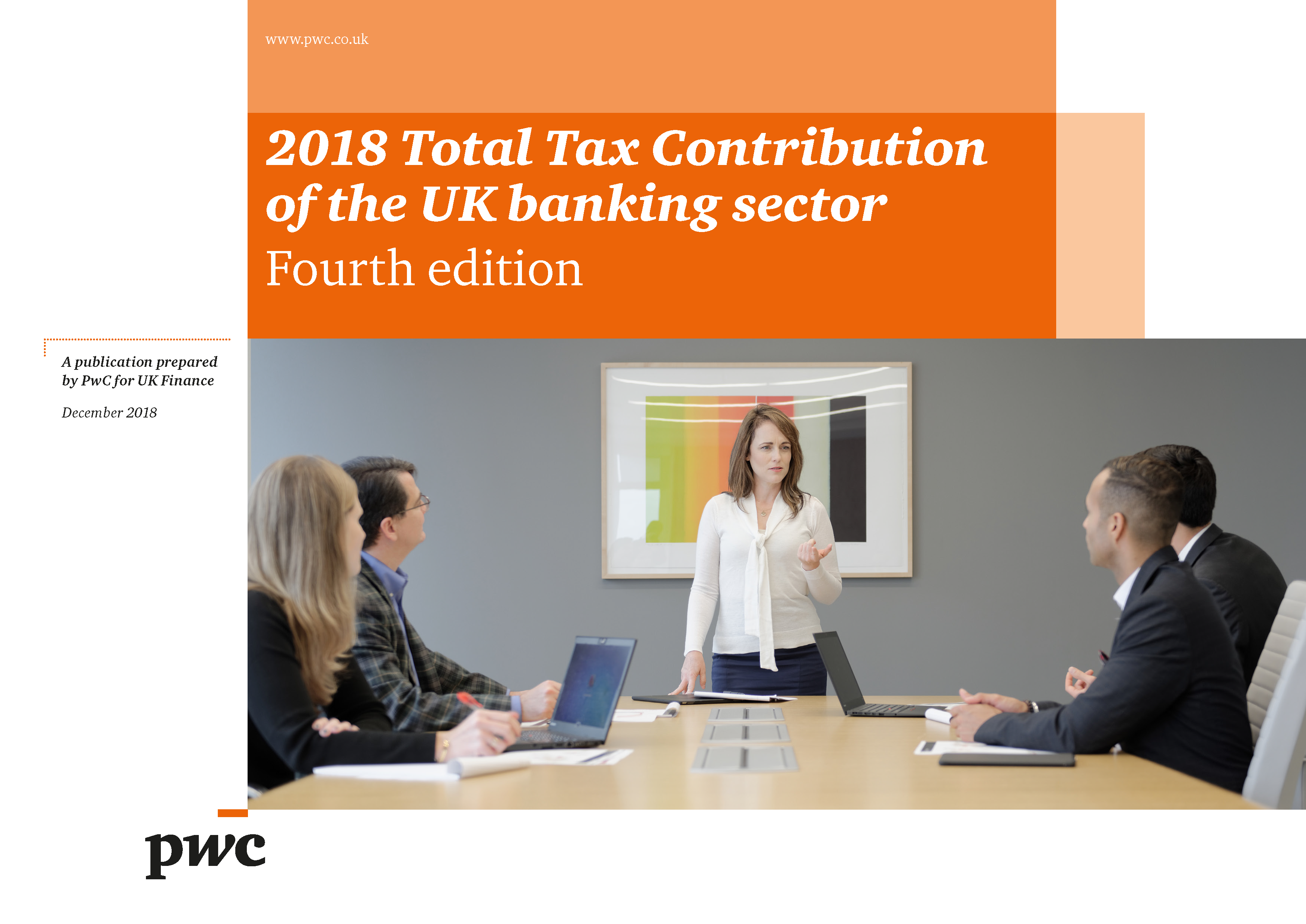 2018 Total Tax Contribution of the UK banking sector | UK